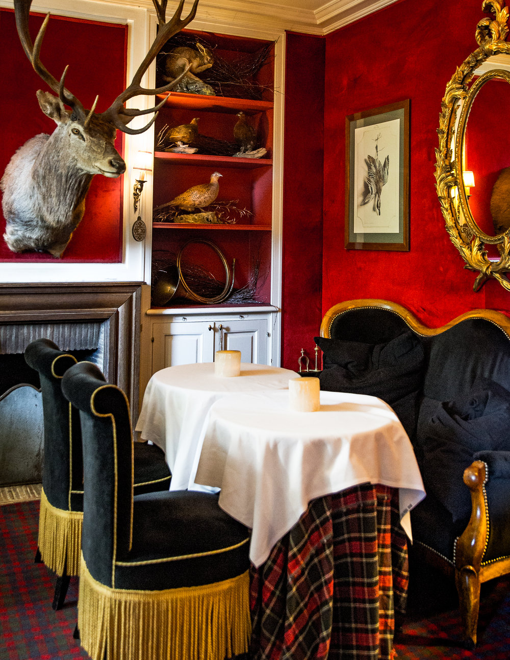 HOTEL PARTICULIER MONTMARTRE   23 Avenue Junot, Pavillon D, 75018   INSIDER TIP  | It only looks like a country inn but the Hotel Particulier is anything but old school. Get cozy over tea and nibbles in this sliver of a salon off of the lobby.
