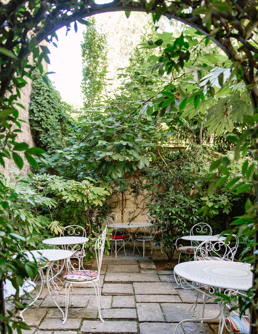 HOTEL PARTICULIER MONTMARTRE 23 Avenue Junot, Pavillon D, 75018 INSIDER TIP | The best part about spending time in the Hotel Particulier garden is that you're still part of the thriving city while being just the right distance from the hustle and bustle. Non guests can come for an aperitif and enjoy the calm all year round.