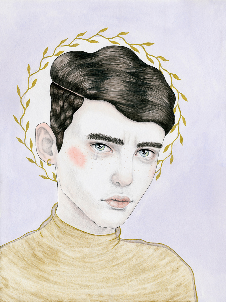 """Sad Boy #1"", by Hilde Atalanta (published on De Correspondent)."