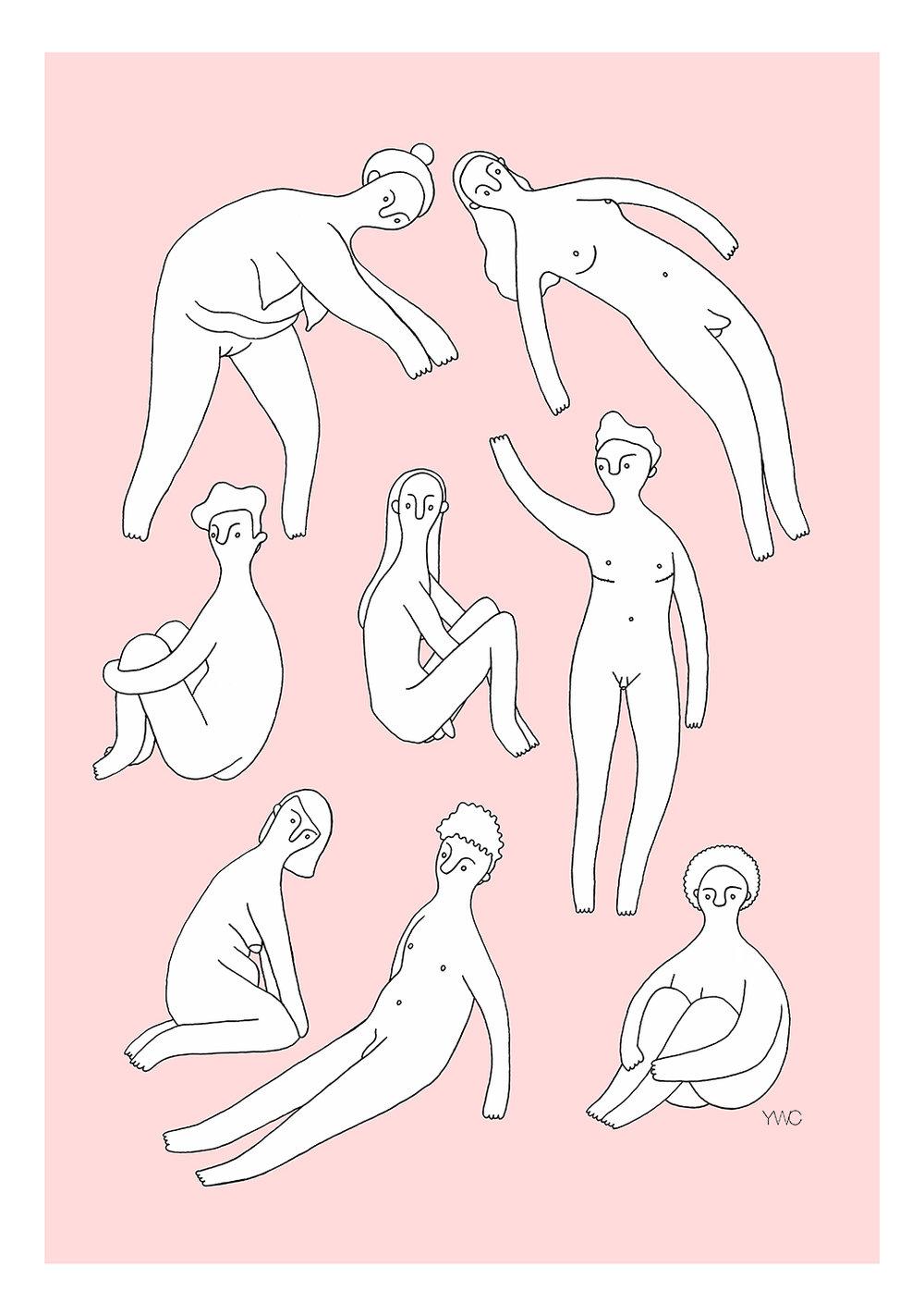 Print - Diversity #1 - Pink (etsy small).jpg