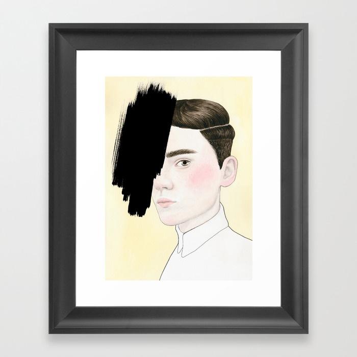 Framed Print - Hiding #4.jpeg