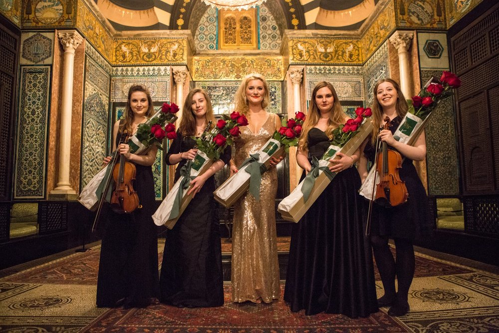 Prize winners concert for Tait Trust