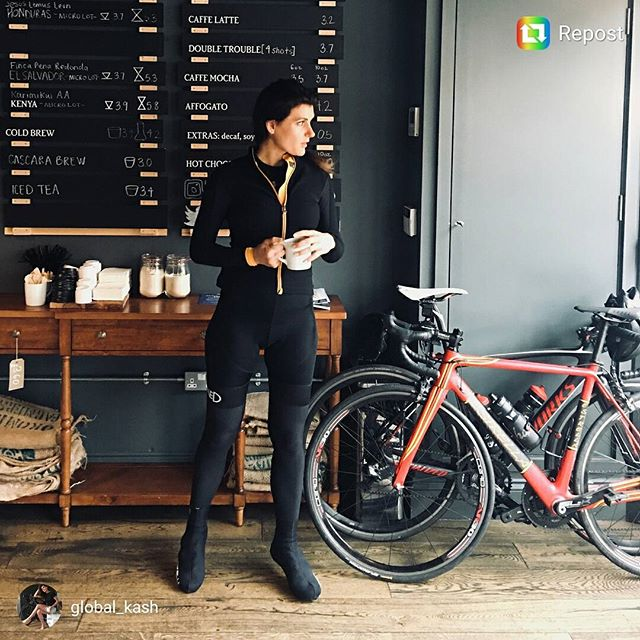 Easy like Sunday mornings with @global_kash..... Temps low today winter is coming. Coffee is key.  #refinedroadwear #riderefined #coffee #cycling #london #coffeestop