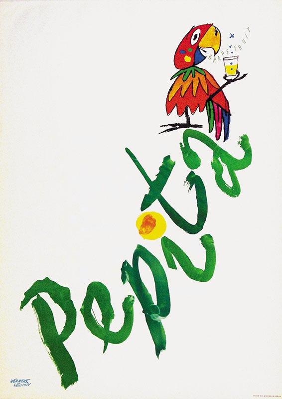 Herbert Leupin Pepita Poster