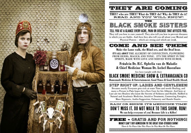 Corinne Odermatt Black Smoke Medicine Show