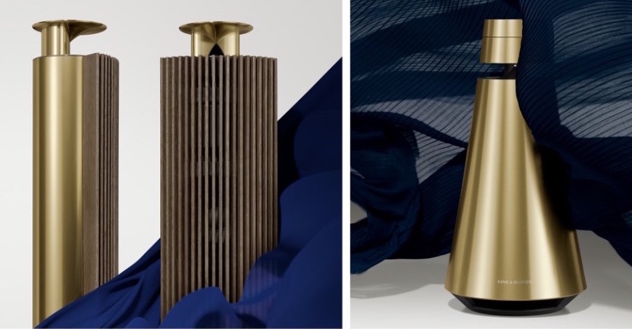 Bang & Olufsen introduces brass-toned products for a more elegant and warm home, forever changing the monochrome world of electronic design.