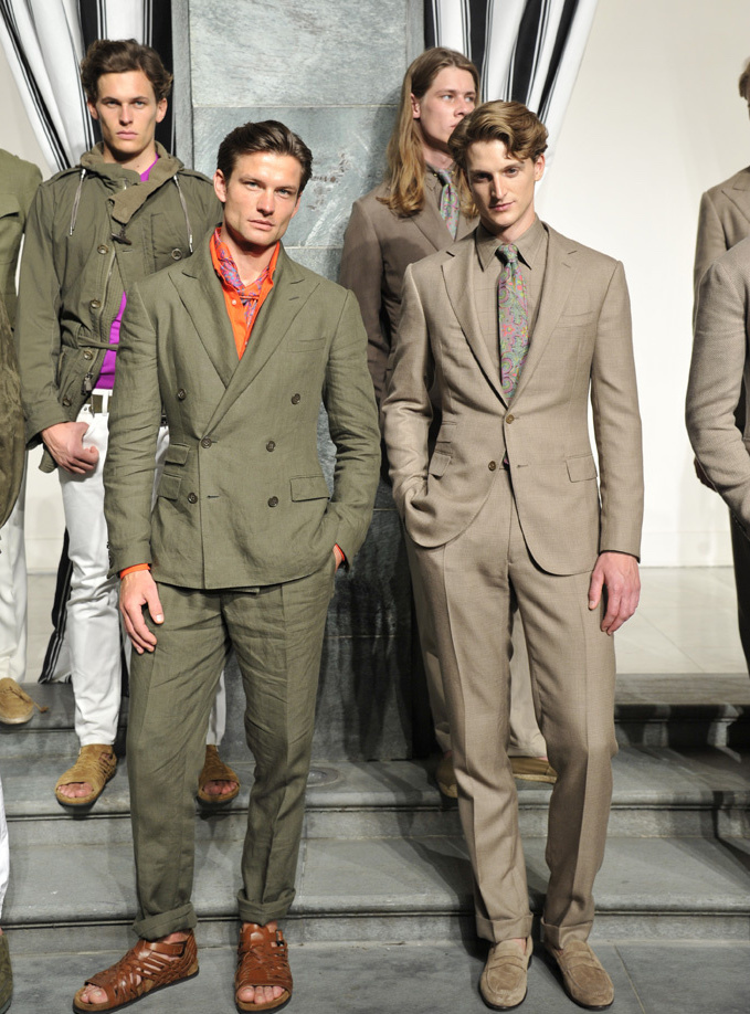 Ralph Lauren Purple Label Men's Spring 2017