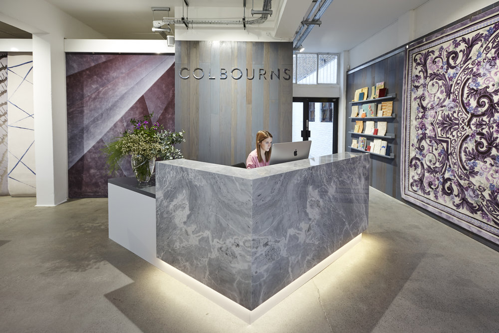 Colbourns Retail Showroom - Entrance