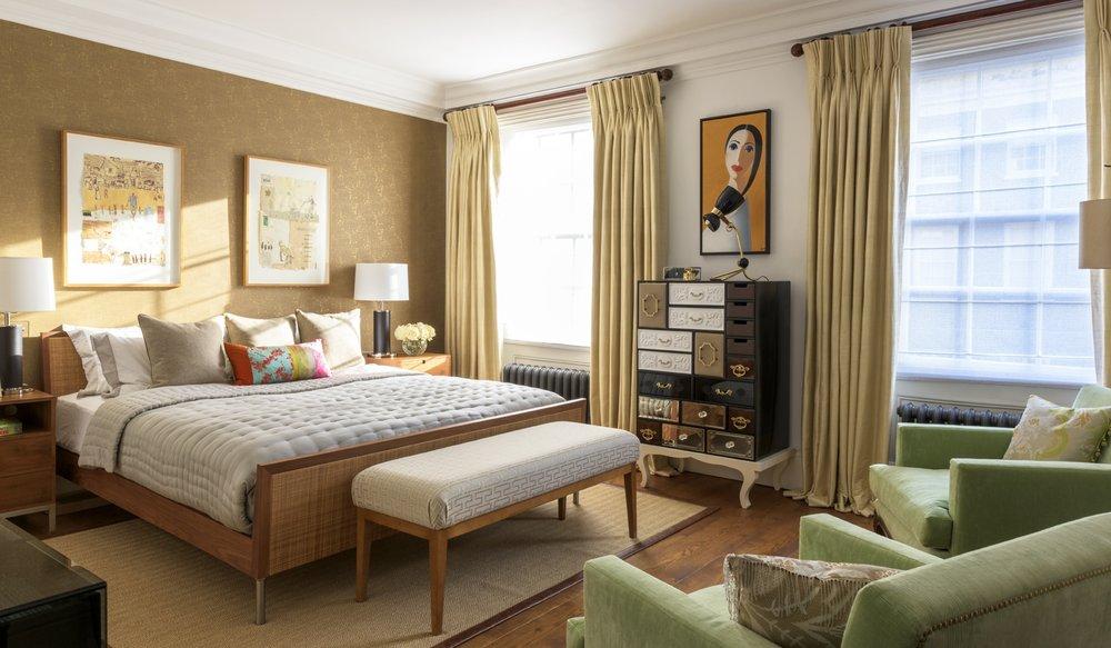 Belgravia Townhouse - Master Bedroom
