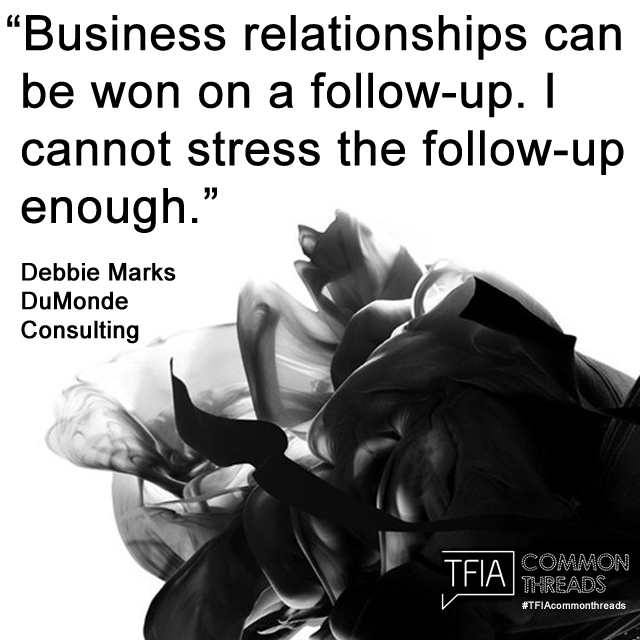 TFIA Instagram Quote Debbie Marks 2