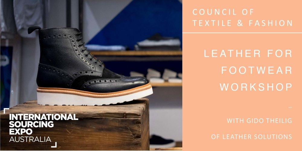 Workshop | Leather for Footwear