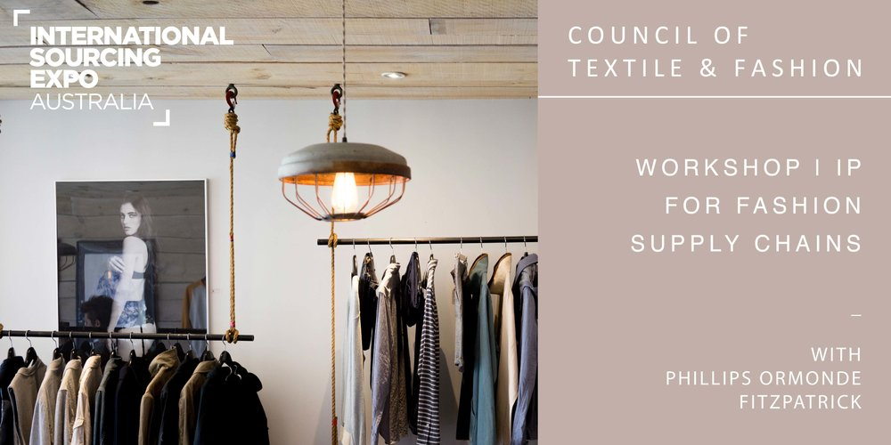 Workshop IP For Fashion Supply Chains