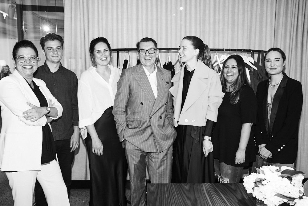 Designer Round Table with Ian Griffiths, Creative Director MaxMara