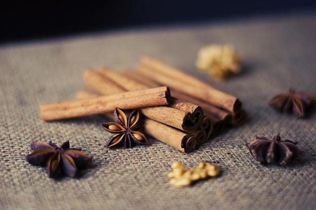 Oooo cinnamon (imagine Homer Simpson voice). Cinnamon has great benefits to you. It reduces fasting blood glucose (if you have concern over diabetes), is helpful in anti-aging and digestion. Just avoid Cinnabon. That will destroy your fasting blood glucose.