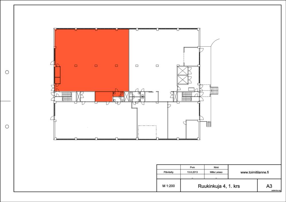 Toimitilanne Suomi, Espoo - Kiviruukki, Ruukinkuja 4, Varastotila 433 m²
