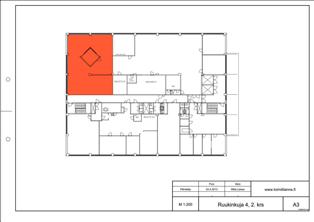 Toimitilanne Suomi, Espoo - Kiviruukki, Ruukinkuja 4, Toimistotila 192 m²