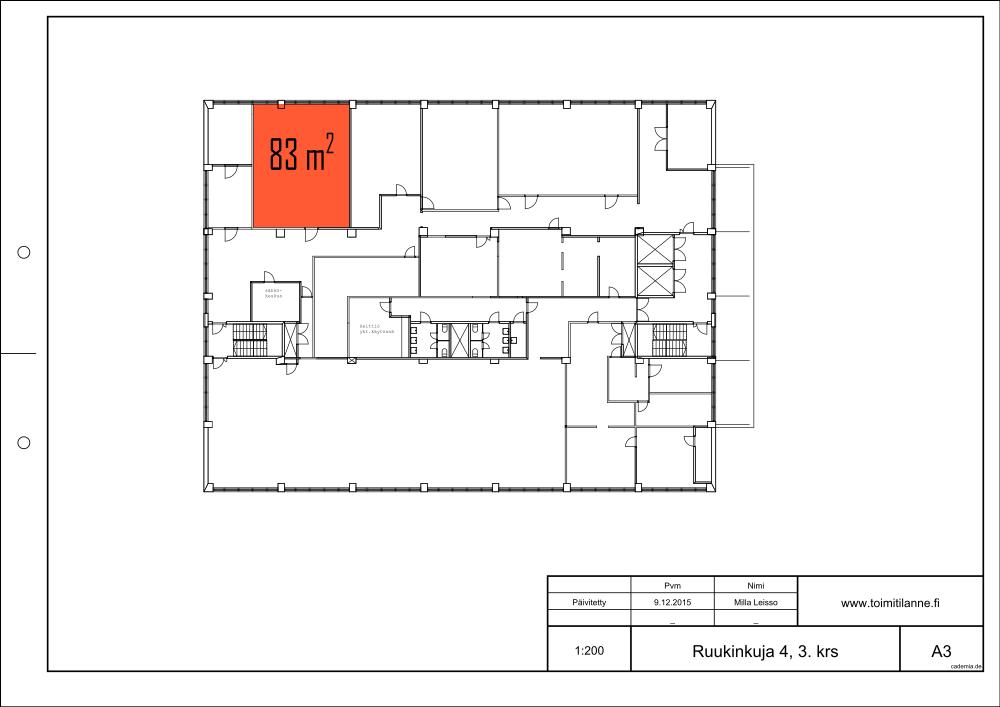 Toimitilanne Suomi, Espoo - Kiviruukki, Ruukinkuja 4, Varastotila 83 m²
