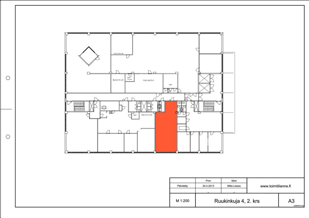 Toimitilanne Suomi, Espoo - Kiviruukki, Ruukinkuja 4, Toimistotila 77 m²