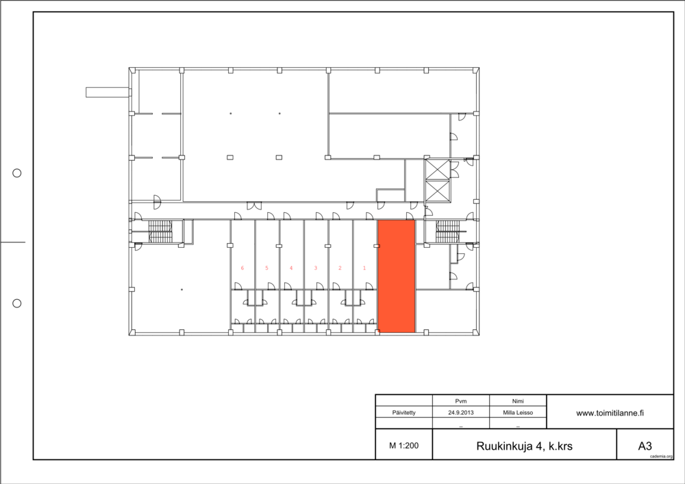 Toimitilanne Suomi, Espoo - Kiviruukki, Ruukinkuja 4, Varastotila 62 m²