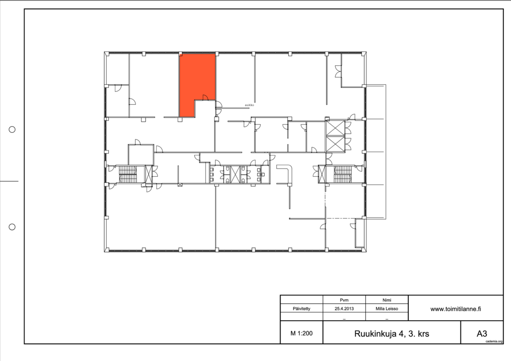 Toimitilanne Suomi, Espoo - Kiviruukki, Ruukinkuja 4, Varastotila 51 m²