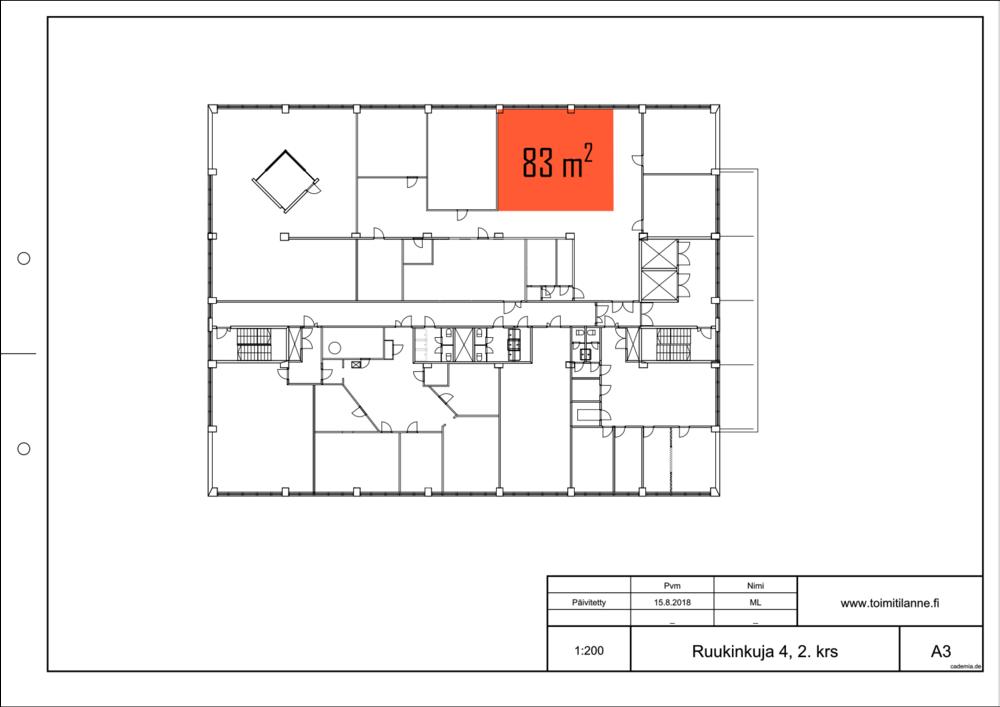 Toimitilanne Suomi, Espoo - Kiviruukki, Ruukinkuja 4, Toimistotila 83 m²