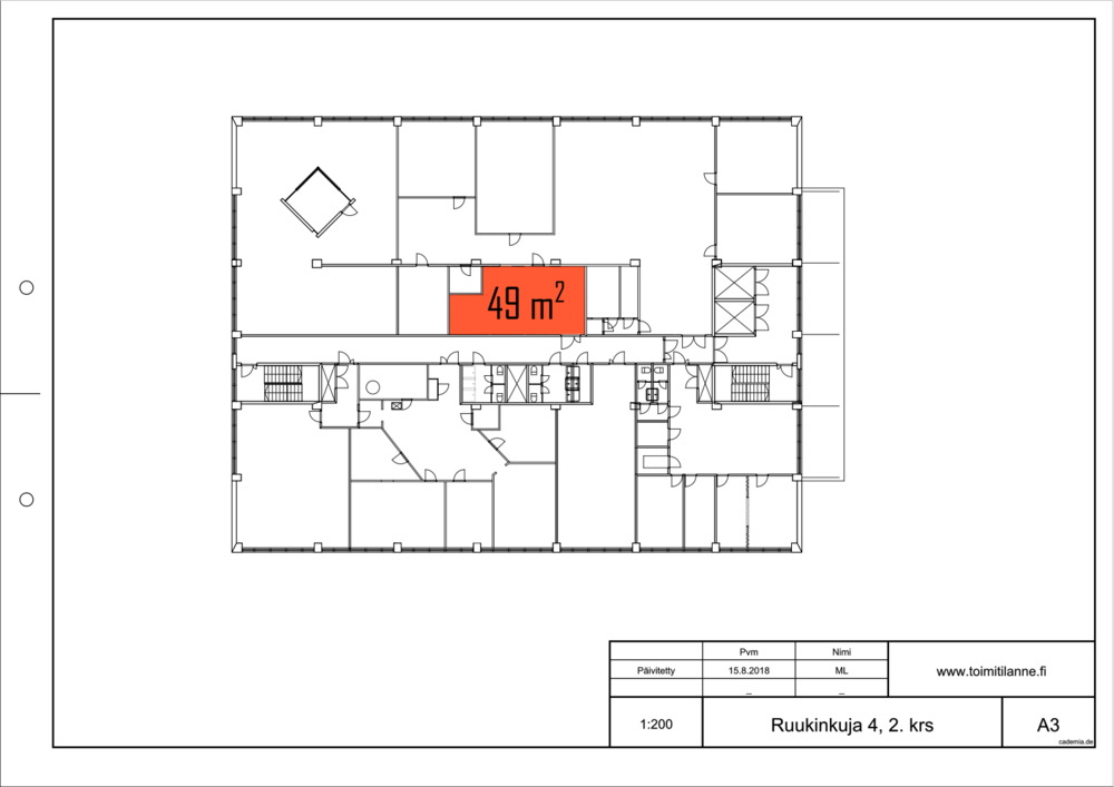 Toimitilanne Suomi, Espoo - Kiviruukki, Ruukinkuja 4, Varastotila 49 m²