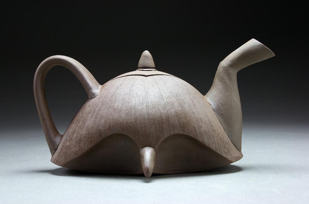 Hawk Teapot