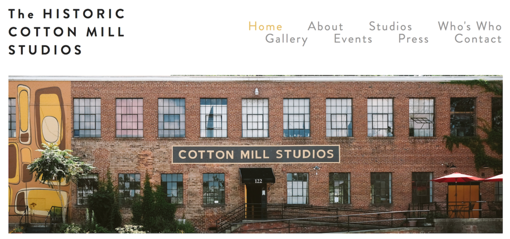Historic Cotton Mill Studios | Authentic Asheville