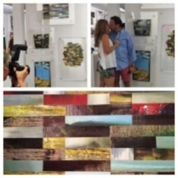 Art Basel show, Miami 2014