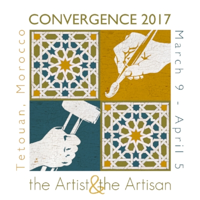 I am excited  to participate in the Convergence 2017 residency program in Tetouan, Morocco in March 2017.