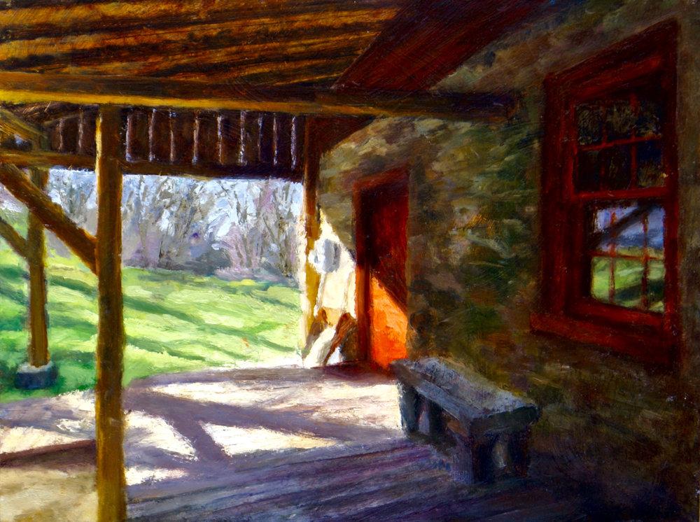 Old Newlin Porch