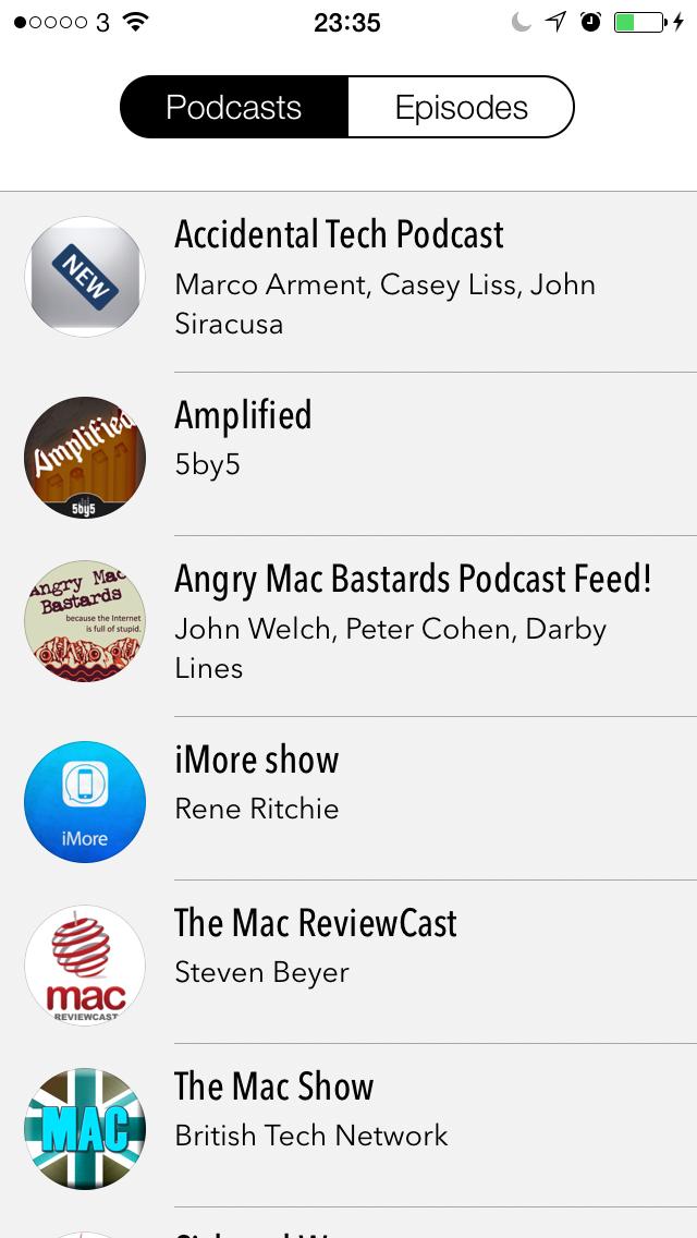 Castro - Adding A Podcast 4