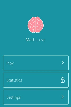 Math Love English Menu