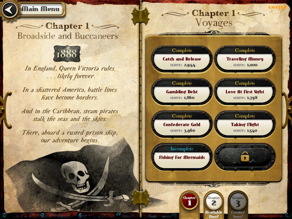 Crimson Steam Pirates Chapters