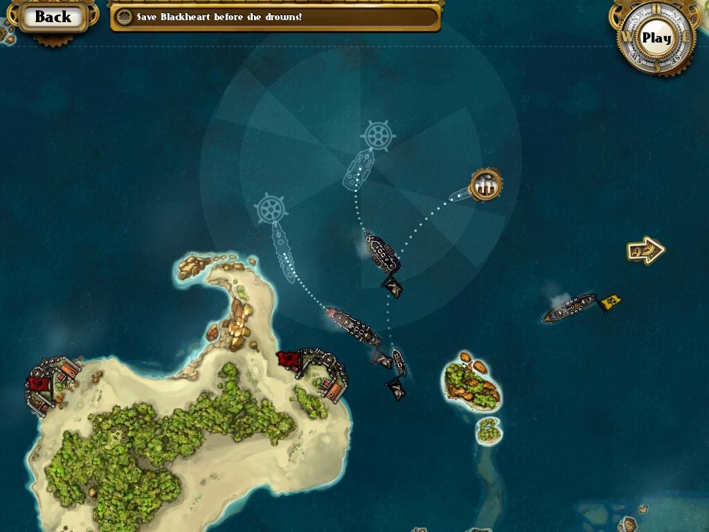 Crimson Steam Pirates Weapon Ranges