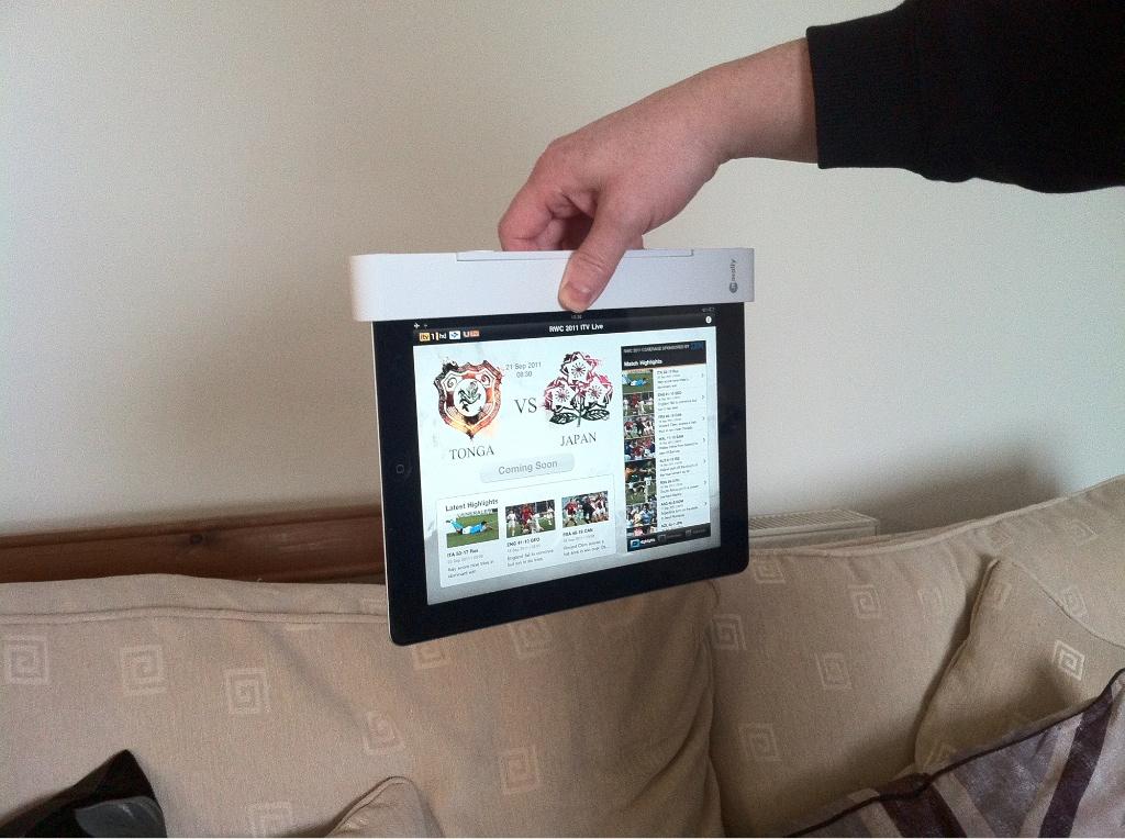 Thats My iPad Upside down!