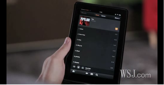 iPad 2 compared to Kindle Fire and Nook