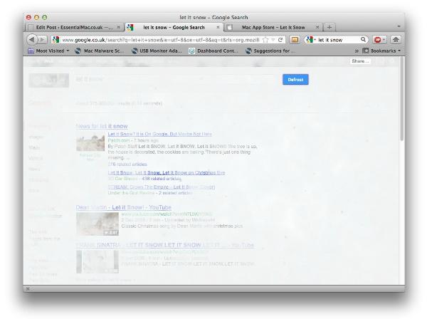 Let It Snow Google Search