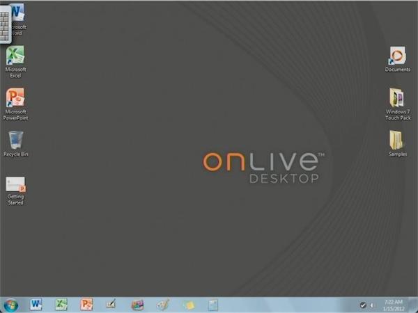 onlive windows 7 on ipad