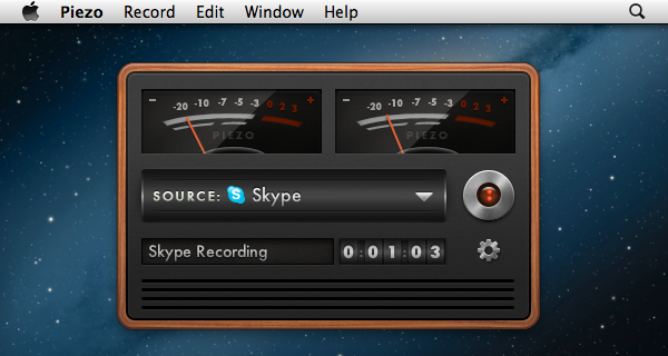 Piezo Refreshingly Simple Audio Recording