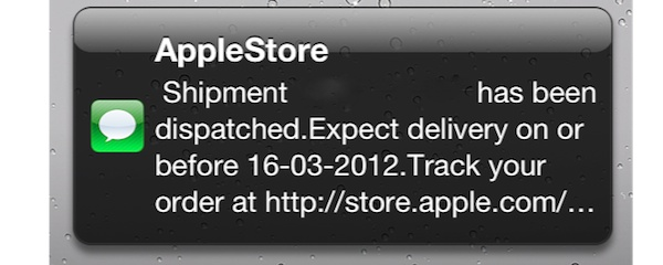 iPad3 Shipping