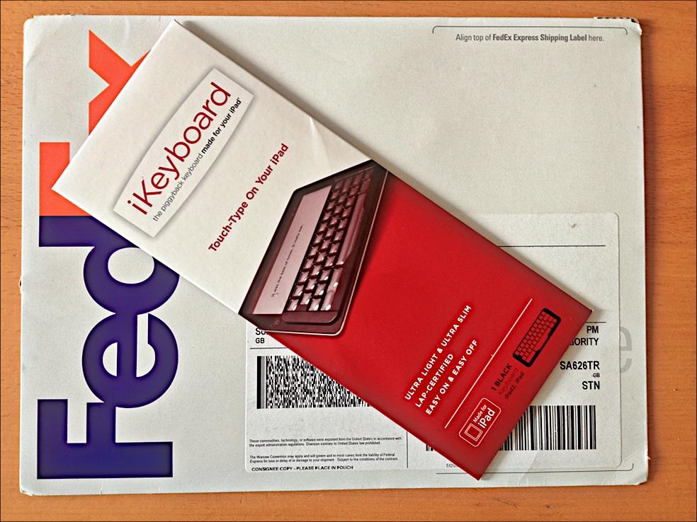 IKeyboard Arrival Packaging