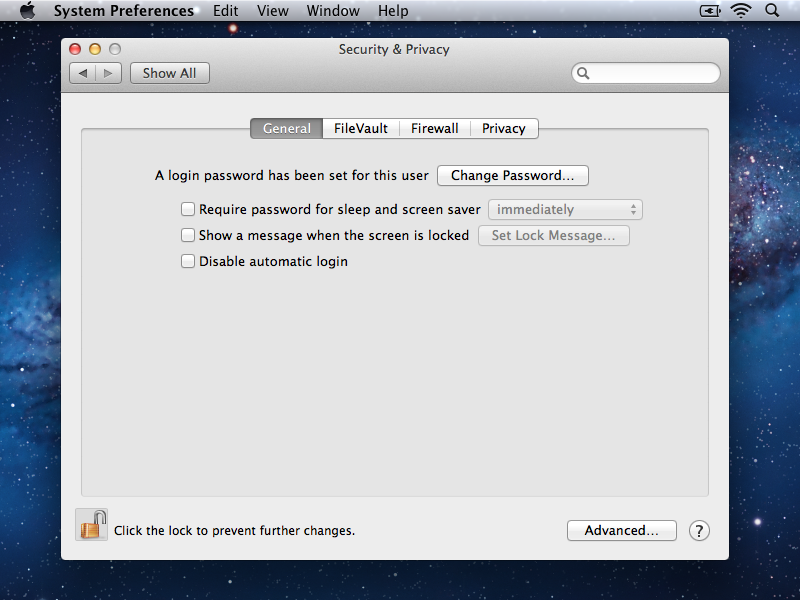 Disable Remote on iMac