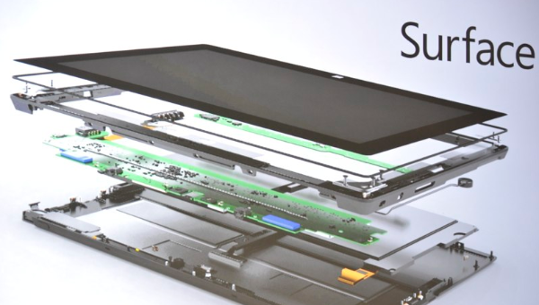 Microsoft Tablet Surface.