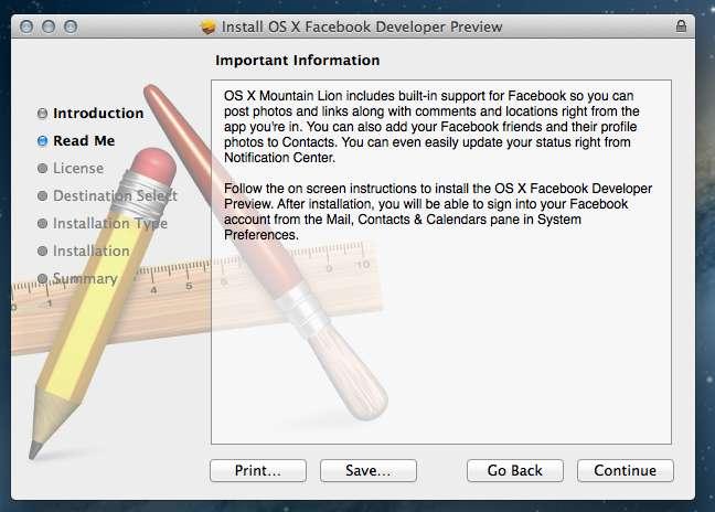 Mountain Lion FaceBook Installer Part 2