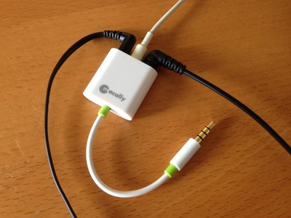 Macally Audio 3 with Headphones