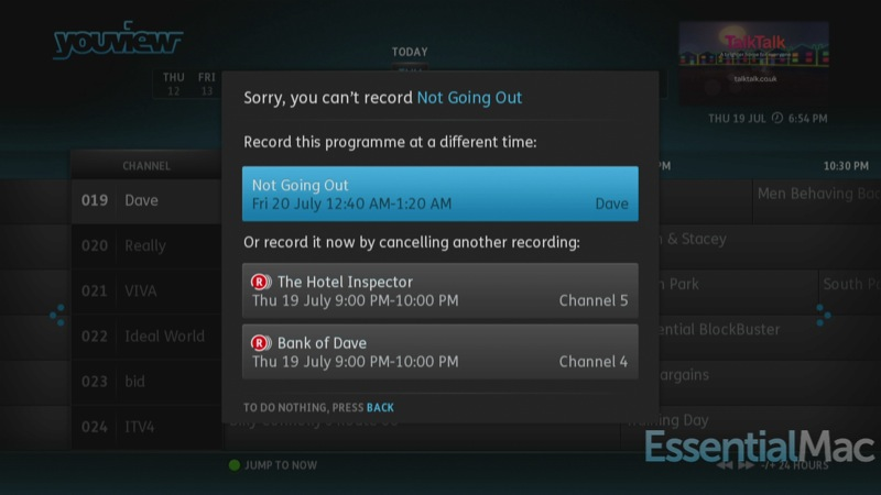 YouView Conflict Resolution