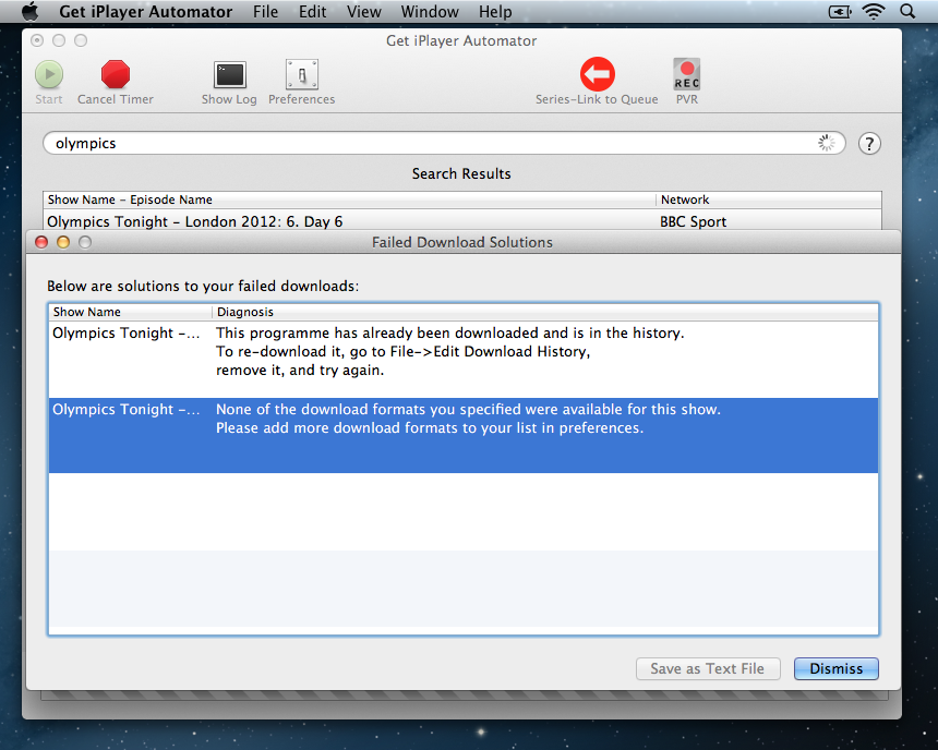 Get iPlayer Automator No Downloads Available