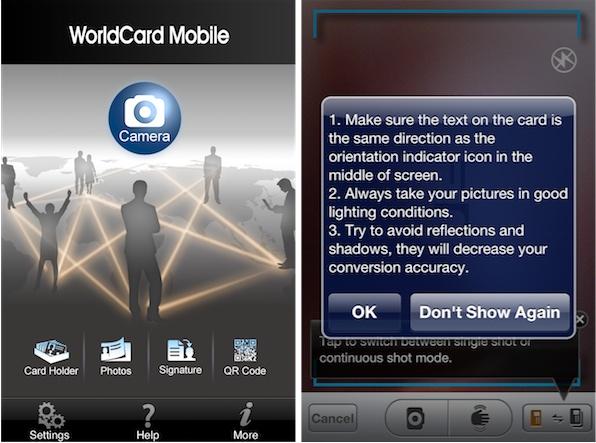 WorldCard Mobile App