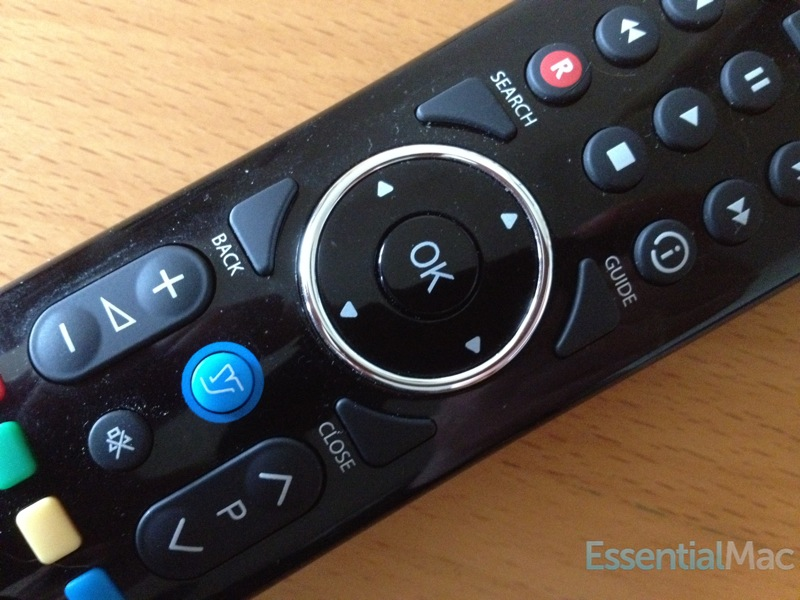 YouView Remote Closeup